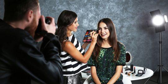 modny a fotograficky make up