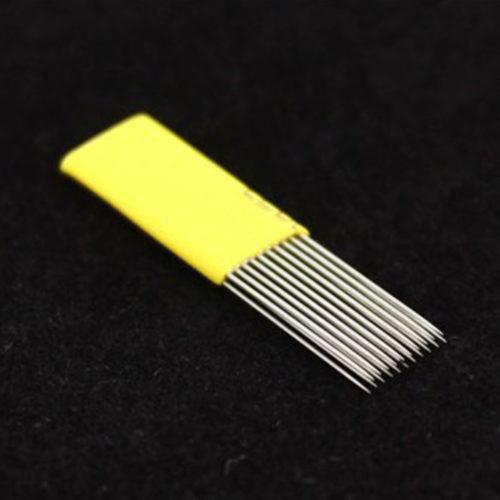 microblading čepielka dvojradová
